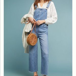 Paige Nellie Denim Overalls (in Petite)